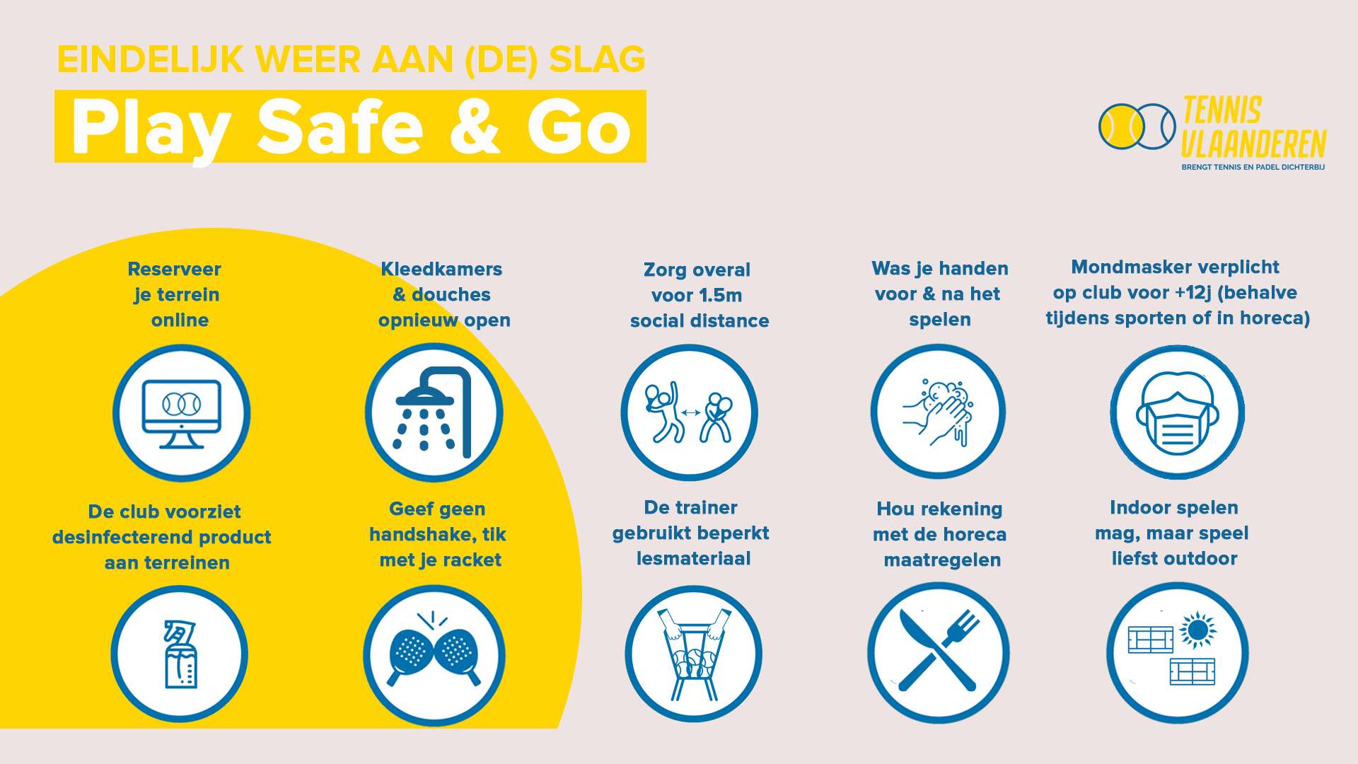 Bekijk de aangepaste 'Play Safe & Go' regels