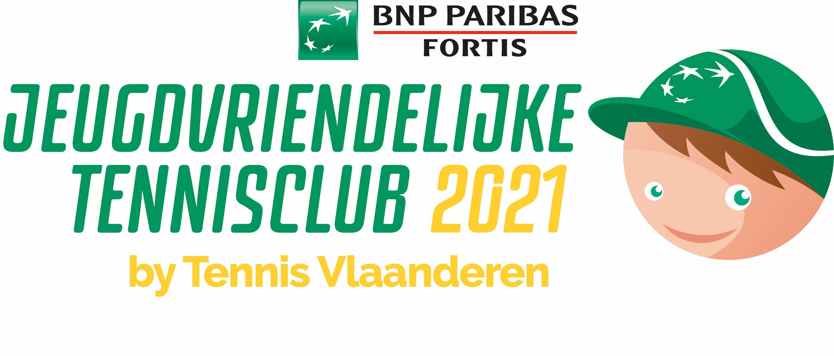 Logo Jeugdvriendelijke Tennisclub 2021